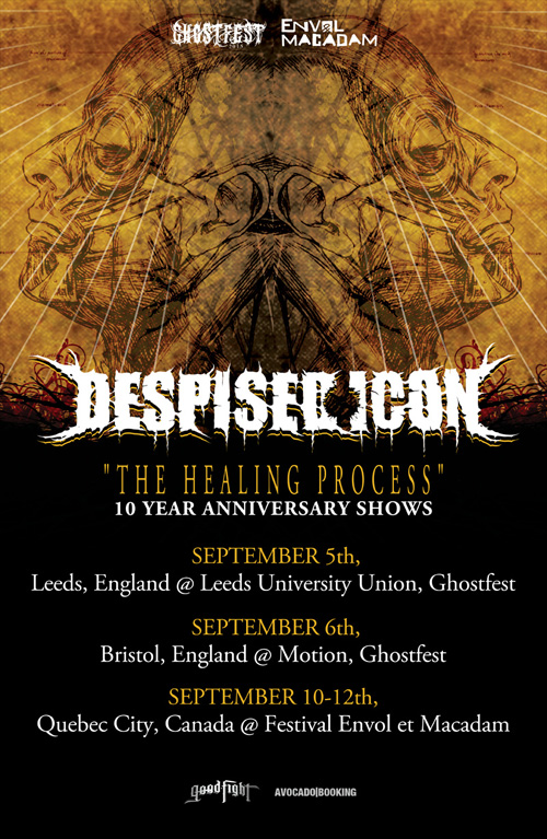 DESPISED ICON - 10th Year Tour