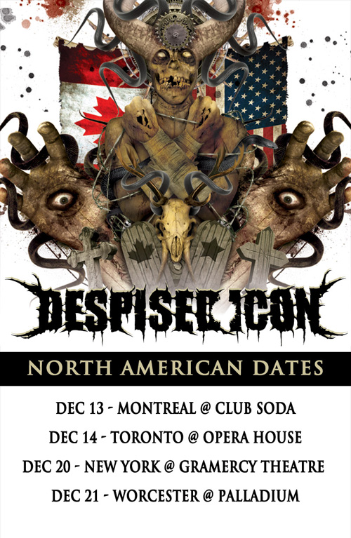 DESPISED ICON - NA Tour