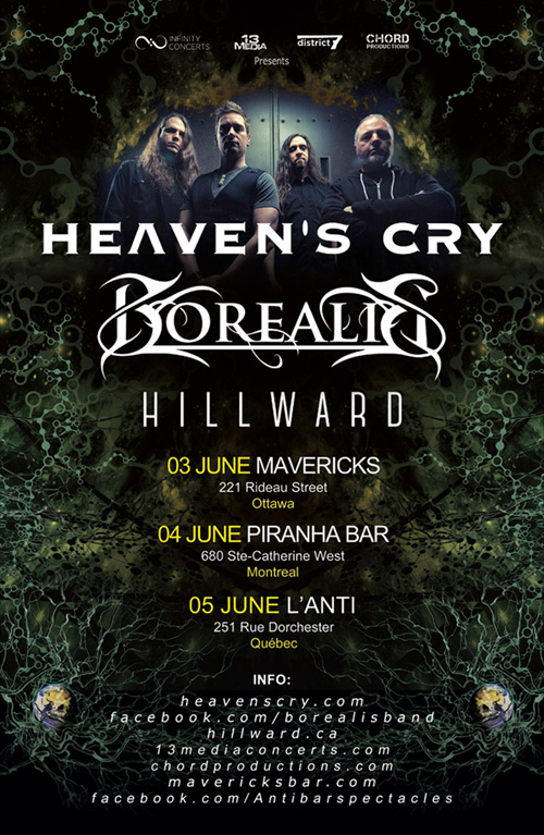 HEAVEN'S CRY - 2016 OUTCAST CD Launch