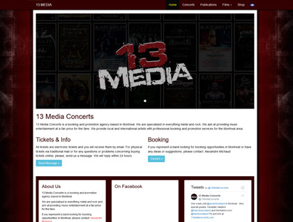 Current Web: 13 Media