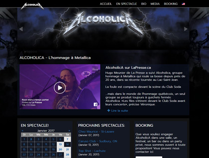Current Web: Alcoholica