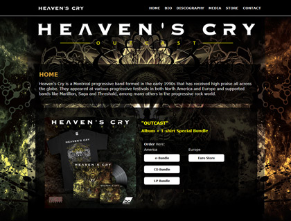 Current Web: Heaven's Cry