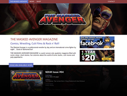 Current Web: The Masked Avenger