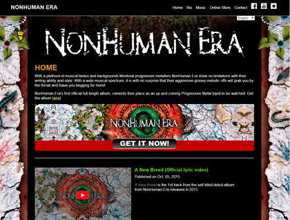 Current Web: NonHuman Era