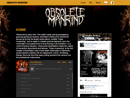 Current Web: Obsolete Mankind